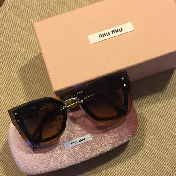 ba155e9c7c66 Miu Miu SMU 04R in Tortoise. M 5b1ef52734a4ef125ac6e67d. Other Accessories  ...